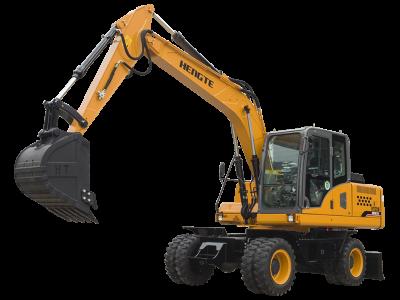台湾HT145W轮式挖掘机