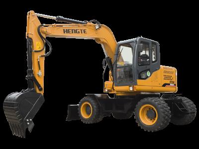 台湾HT95W轮式挖掘机